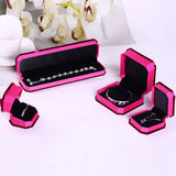15J845915 HH-15J8459#jewellery box-Deep pink