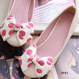 458755-3810(Size:38) Trendy Pink Solid PU Flats