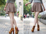 794527-3808(Size:38) Casual Brown PU Boots