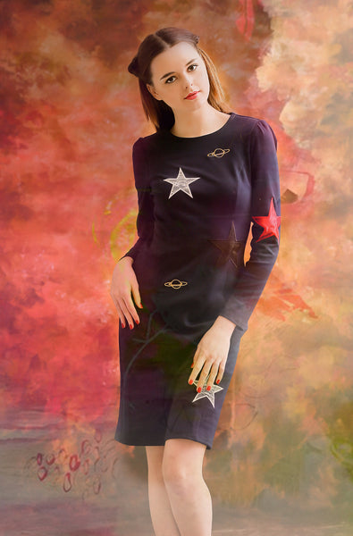 Stars and Planet Dress
