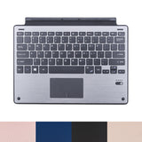 2017 Ultra Slim Aluminum Alloy Wireless Bluetooth Keyboard PU Leather Cover Case for Microsoft Surface Pro 3/ Pro 4 Tablets PC