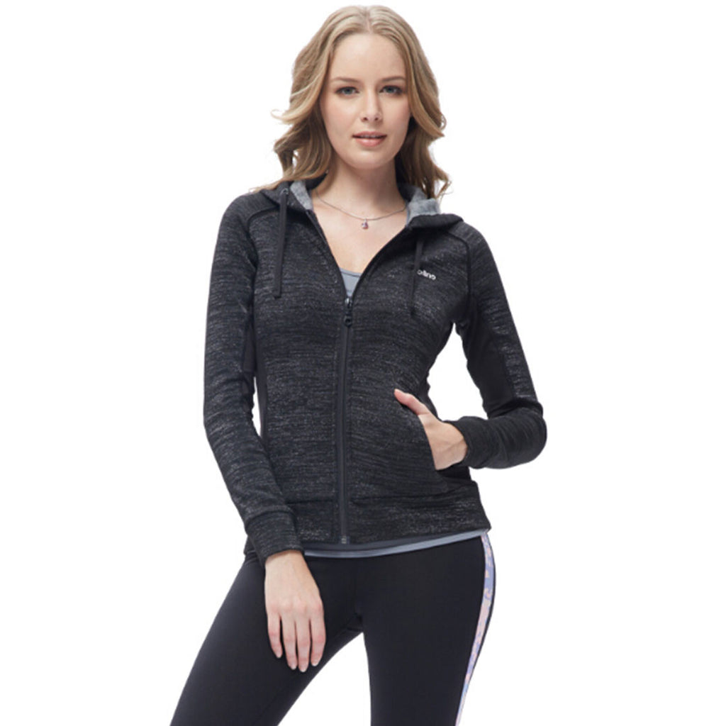 Women's Slim Fit Lightweight Full Zip Yoga Workout Jacket