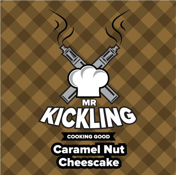Mr Kickling : Caramel Nut Cheescake - 50ml Shortfill /w Free 10ml Nic Shot - No1VapeTrail