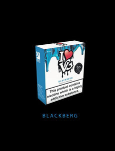 I love VG BlackBerg  TPD Compliant 3x 10ml - No1VapeTrail