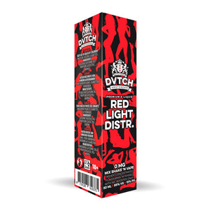 DVTCH 50ml: Redlight /w Free Nic Shot - No1VapeTrail