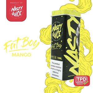 NASTY JUICE – FAT BOY E-LIQUID (10ML) - No1VapeTrail