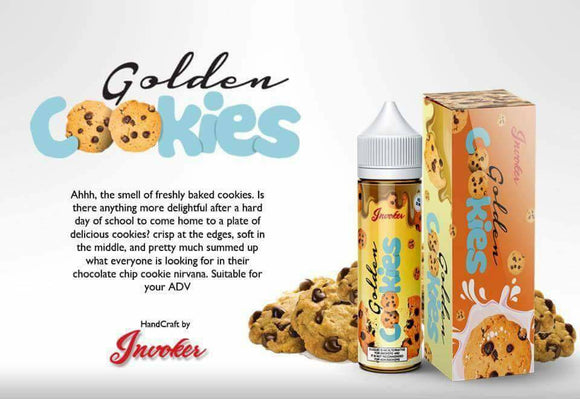 Invokers Golden Cookies 55ML W/Free Nic Shot - No1VapeTrail