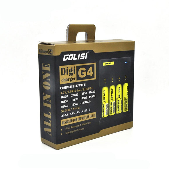 Golisi Universal Battery Charger intelligent Digicharger G4 - No1VapeTrail