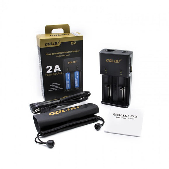 Golisi O2 Charger Fast Charger - No1VapeTrail