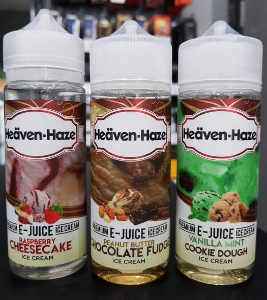 Heaven Haze E Liquid 120ml Shortfill + FREE NIC SHOTS - No1VapeTrail