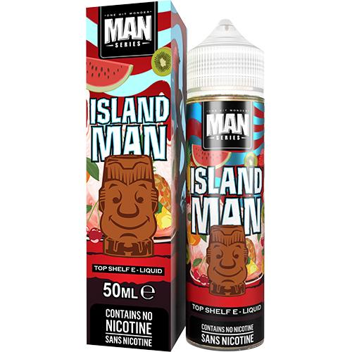 One Hit Wonder - Island Man 50ml + Free Nic Shot - No1VapeTrail
