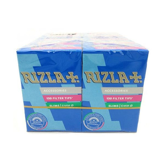 10 Pack Slim 6mm Rizla Filter Tips - No1VapeTrail