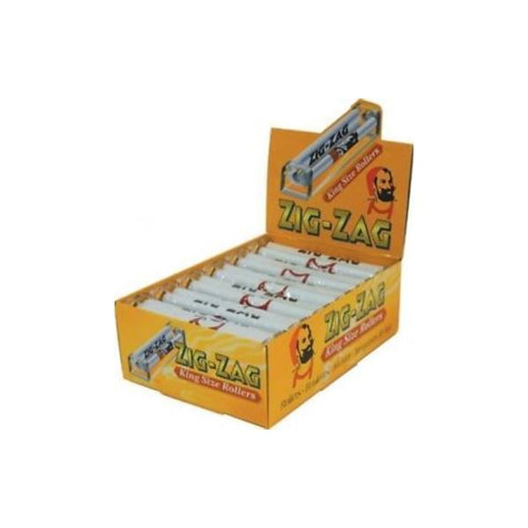 12 x Zig-Zag King Size Rolling Machine - No1VapeTrail