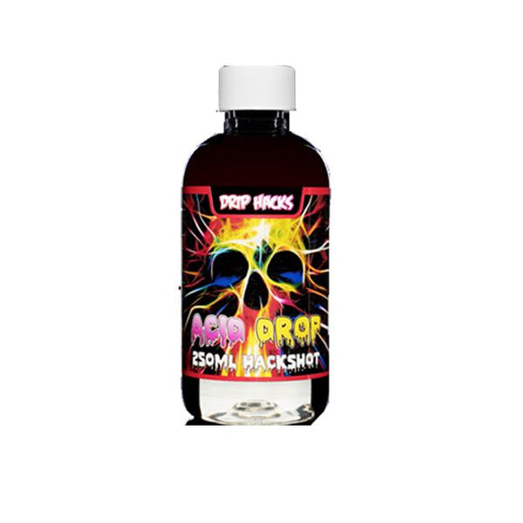 Drip Hacks Hackshots DIY 0mg 250ml E-Liquid Concentrate