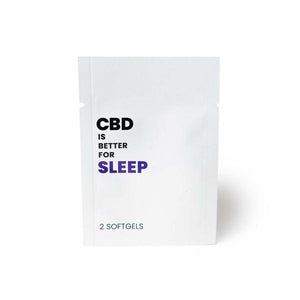 CBD Is Better 25mg CBD Per Softgel - Sleep
