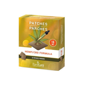 PuroCuro 16mg CBD Formula Patches