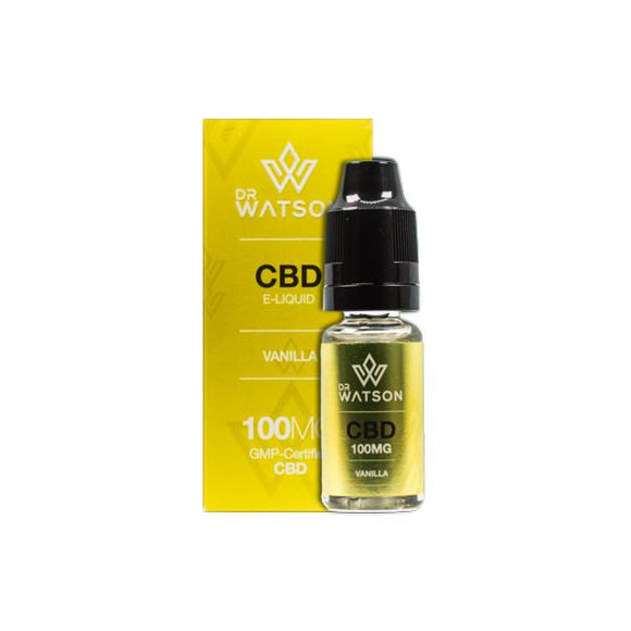 Dr Watson 100mg CBD Vaping Liquid 10ml