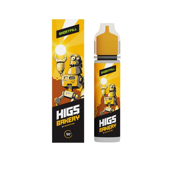 HIGS 50ml Shortfill 0mg (70VG/30PG)