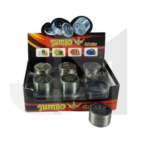3 Parts Small Metal Grey 40mm Grinder - 11007 - No1VapeTrail