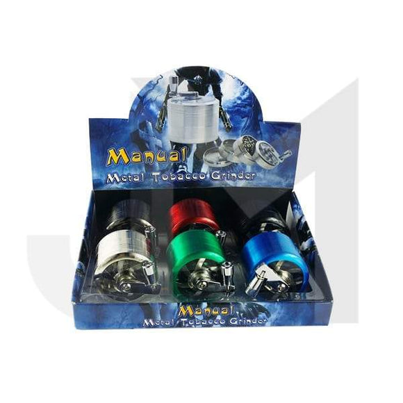 4 Parts Manual 50mm Metal Grinder - HX060-3 - No1VapeTrail