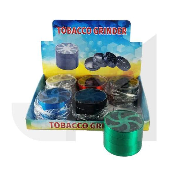 4 Parts Metal Coloured 60mm Grinder HX863LK-4 - No1VapeTrail