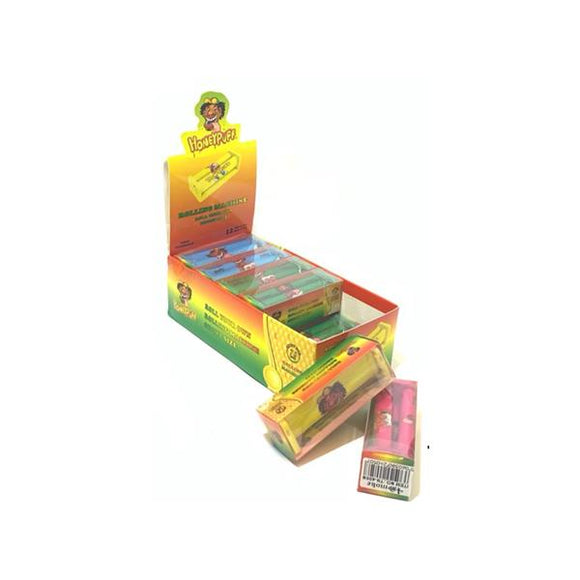 12 x HoneyPuff Multi Colour Standard Size Rolling Machine -  TN400N