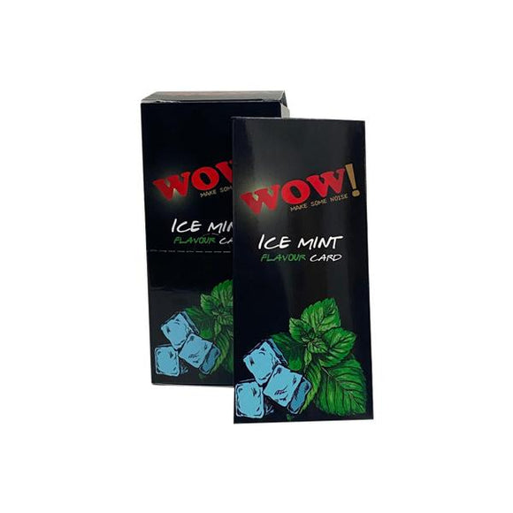 Wow Ice Mint Flavour Cards Infusions Pack of 20