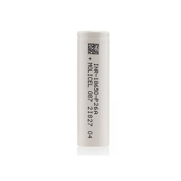 MOLICEL P26A 2600mAh 18650 Battery