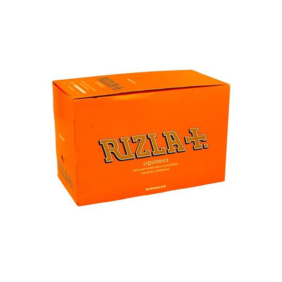 100 Liquorice Regular Rizla Rolling Papers - No1VapeTrail