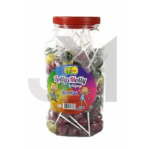 Lolly Molly Assorted Lollipops (Halal)