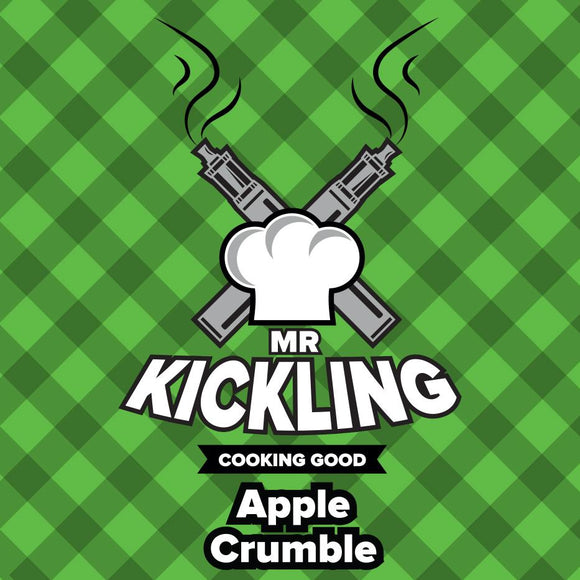 Mr Kickling: Apple Crumble - 50ml Shortfill /w Free 10ml Nic Shot - No1VapeTrail