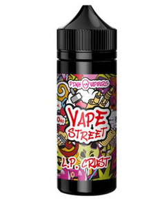 L P CRUST Vape Avenue  Shake And Vape  50ml Short Filled Eliquid  LEMON PIE (Pink Skull Vapours) - No1VapeTrail