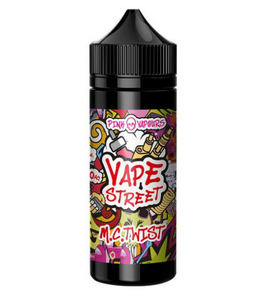 MC TWIST Vape Avenue Shake And Vape 70/30  50ml Short Filled Eliquid TWISTER ICE CREAM (Pink Skull Vapours) - No1VapeTrail