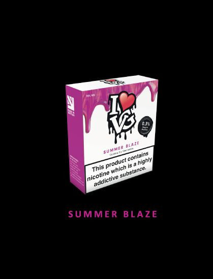 I love VG  Summer Blaze TPD Compliant 3x 10ml - No1VapeTrail