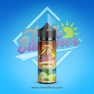 Horny Flava Summer Edition 8 Flavours 100ml + Free Nic Shots