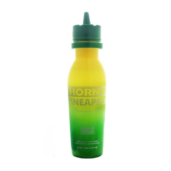 HORNY FLAVA – HORNY PINEAPPLE E-LIQUID 60ml + FREE NIC SHOT - No1VapeTrail