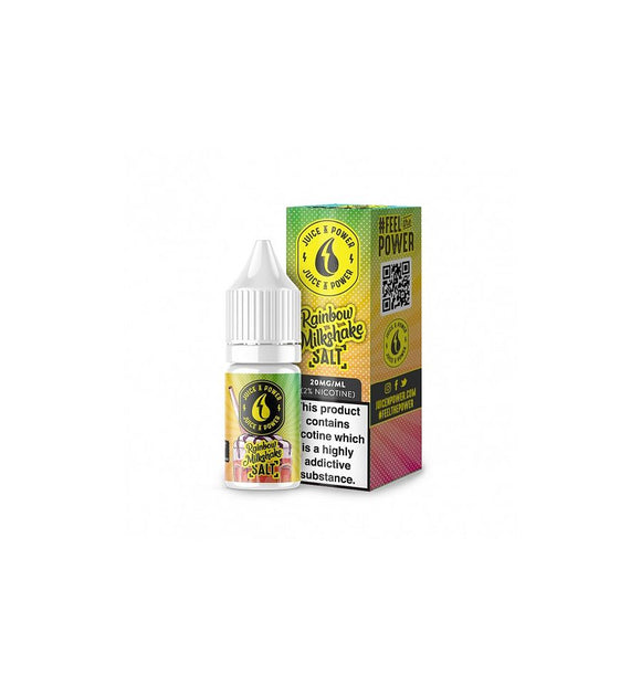 Rainbow Milkshake eLiquid by Juice N power - Nic Salt 20MG - No1VapeTrail