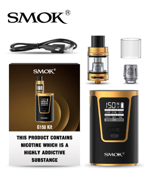 Smok G150  Kit With TFV8 Baby Beast EU Edition - No1VapeTrail