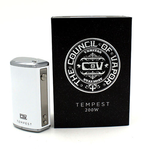 Tempest 200W Box Mod by Council Of Vapor - No1VapeTrail