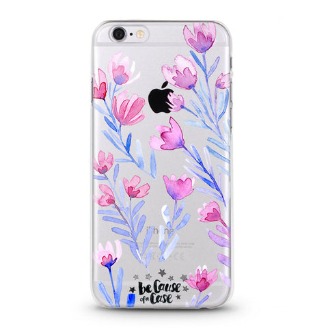 Pink Flamingo Clear Case