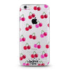 Pinkish Cherries Clear Case - Because of a Case