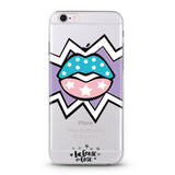 Kaboom Lips Clear Case - Because of a Case