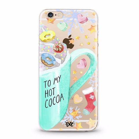 Cupcake Lips Clear Case