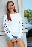 Bamboo Vibes Basic White Long Sleeve Tee - Because of a Case