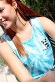 Bamboo Vibes Turquoise Tie Dye Tank - Because of a Case