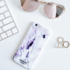 Purple Marble Cover - Because of a Case