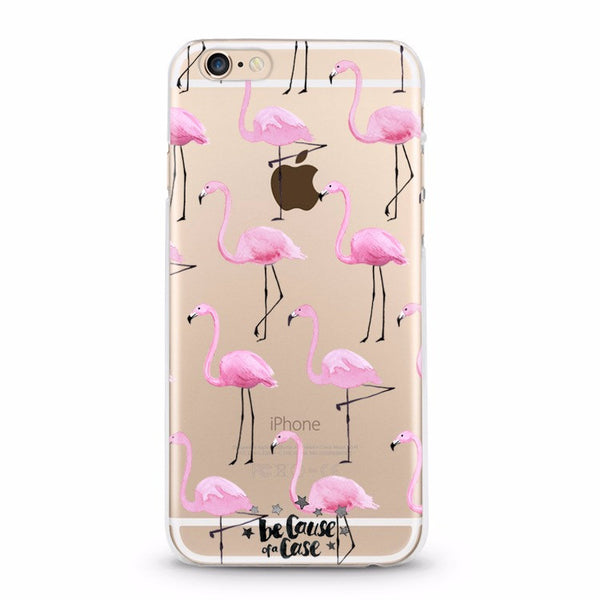 Pink Flamingo - Because of a Case