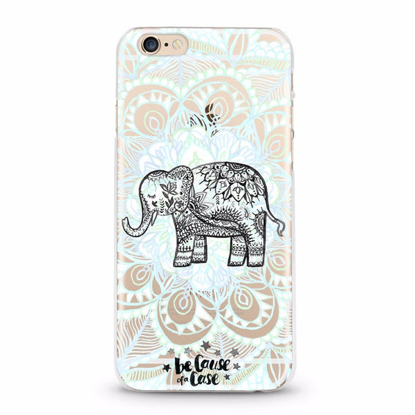 Save the Elephants! Serenity Clear Case - Because of a Case