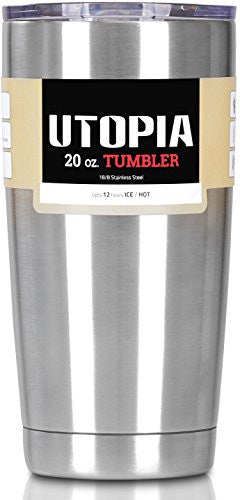 Utopia Tumbler 20 Oz - Stainless Steel