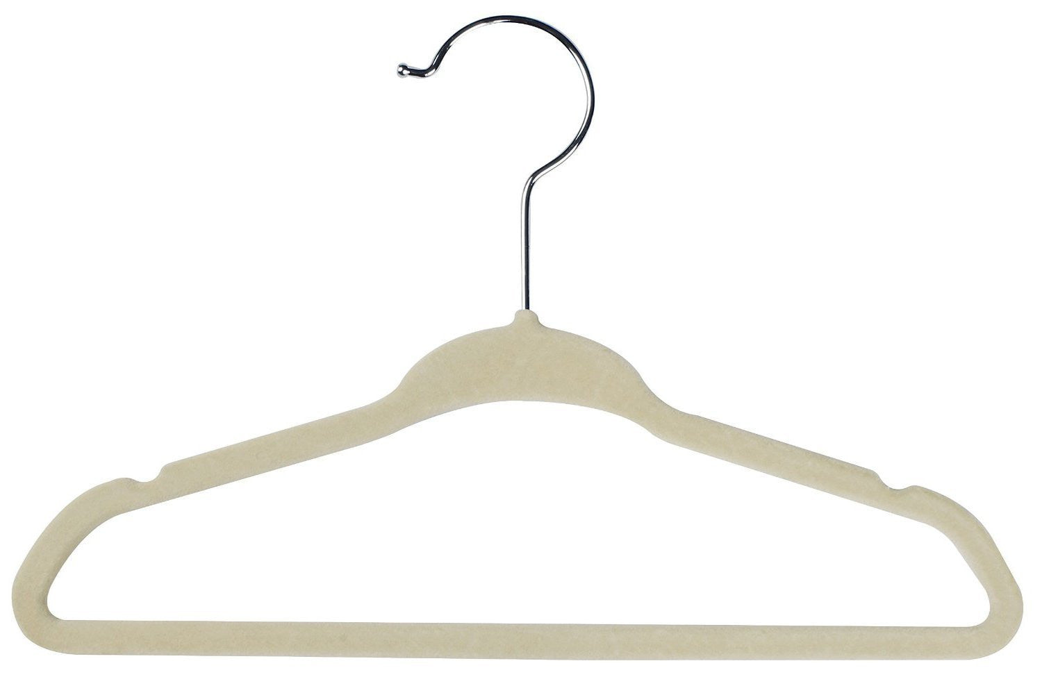 Baby Hangers (Pack of 25) Kids Clothes Hanger (Ivory)